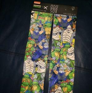 Odd Sox Ninja Turtles Men's 6-13
